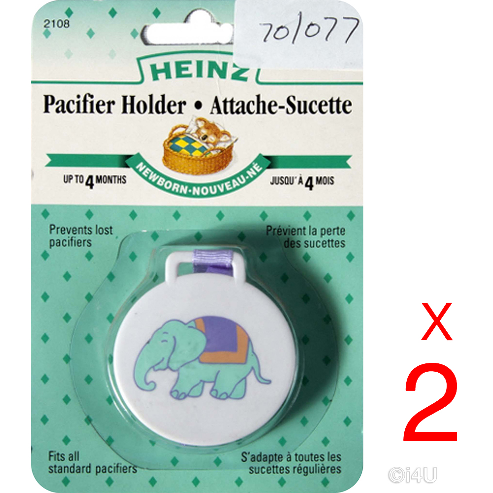 Dummy Clip Soother Clips Teething Baby Teether Chain Holder Pacifier Strap LA